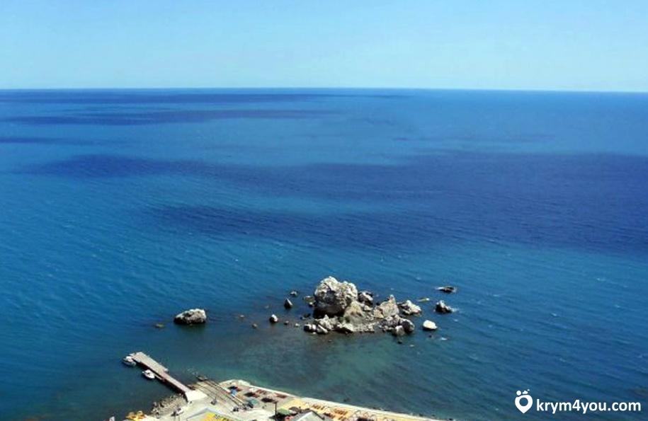 Крабий остров Судак