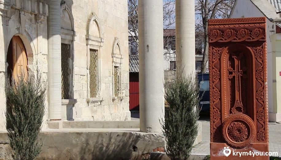 Армянская церковь в Евпатории Крым фото