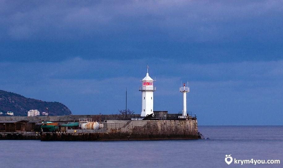 Ялтинский маяк Крым фото