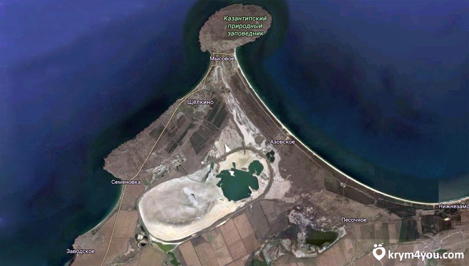 Крым Акташское озеро