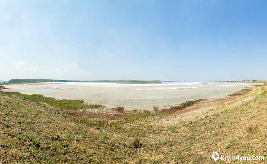 Крым Акташское озеро 1