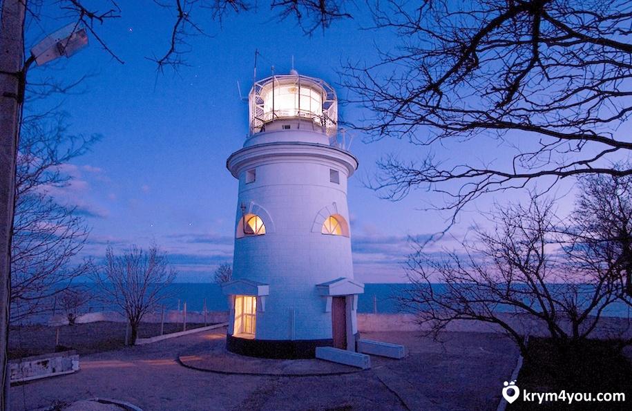 Ильинский маяк Феодосия, Крым фото