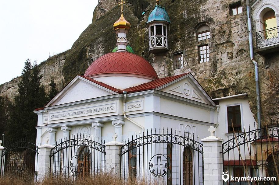 Инкерманский пещерный монастырь 4