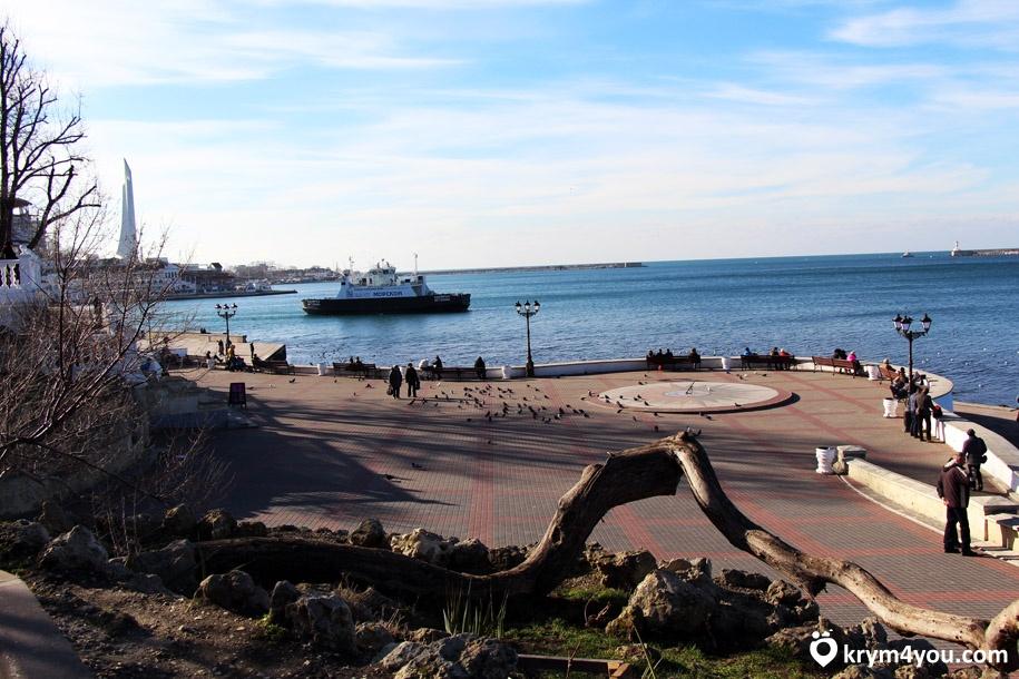Набережная Севастополя Крым