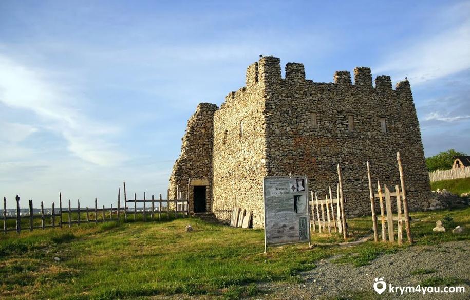 Крепости Крыма неаполь скифский