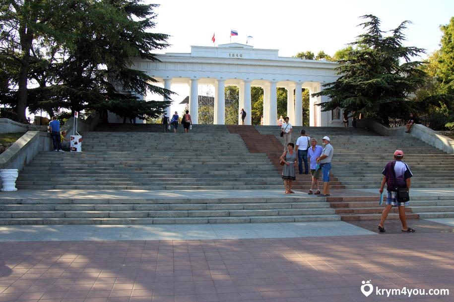 Приморский бульвар Севастополь 1