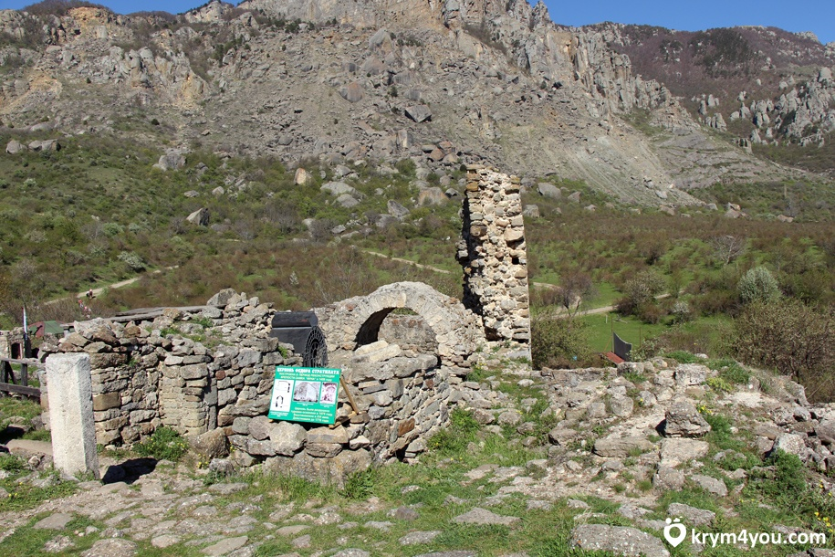 Достопримечательности Алушты Крепость Фуна