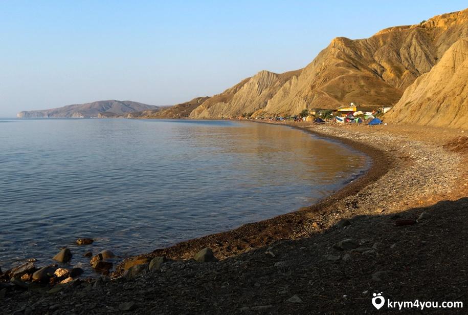 Лисья бухта в Крыму
