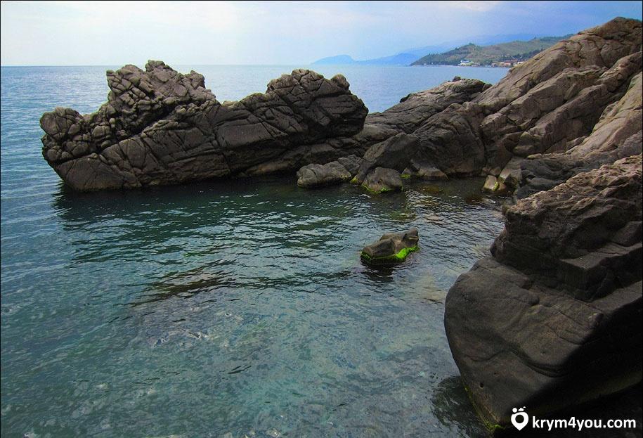 Сырные скалы в Крыму