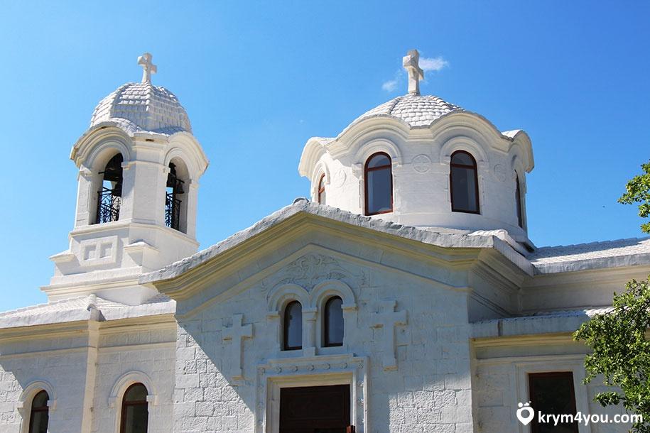 Храм Лаки, церковь святого Луки в Бахчисарайском районе