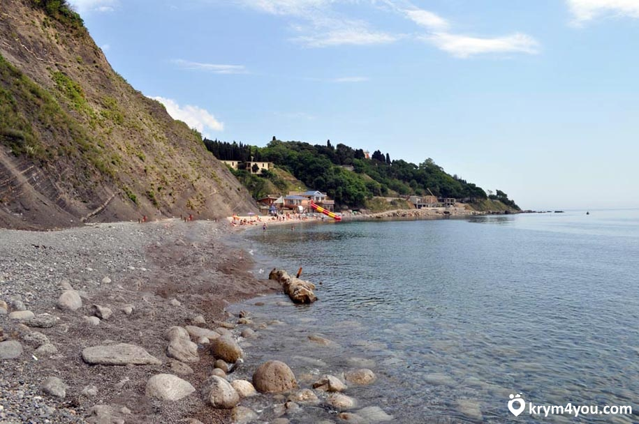 Крым Пляжи Алупки