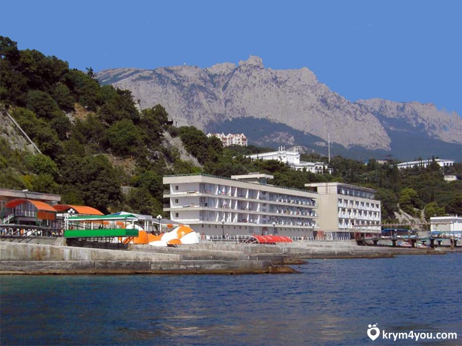 Пляж в Гаспре Крым фото