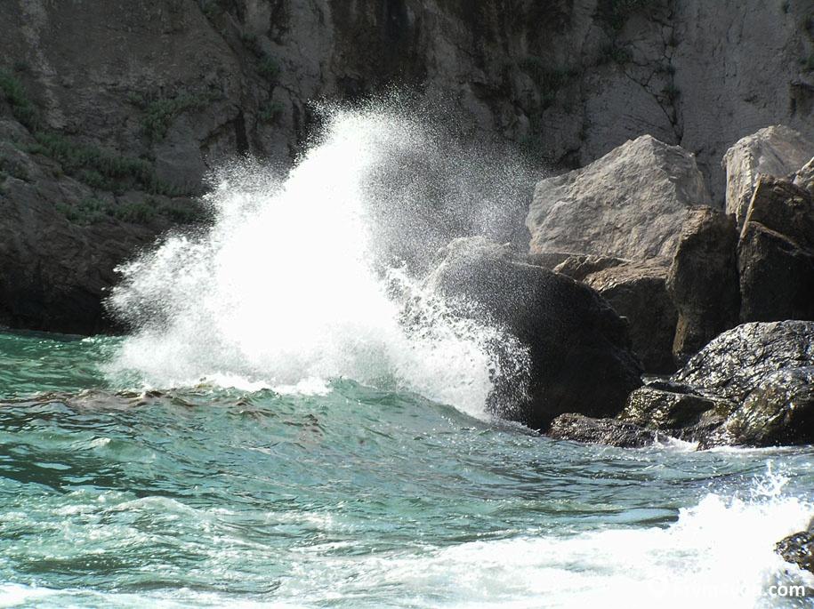 Пляжи Гурзуфа фото