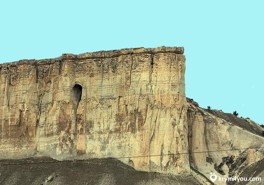 вершине Белой Скалы