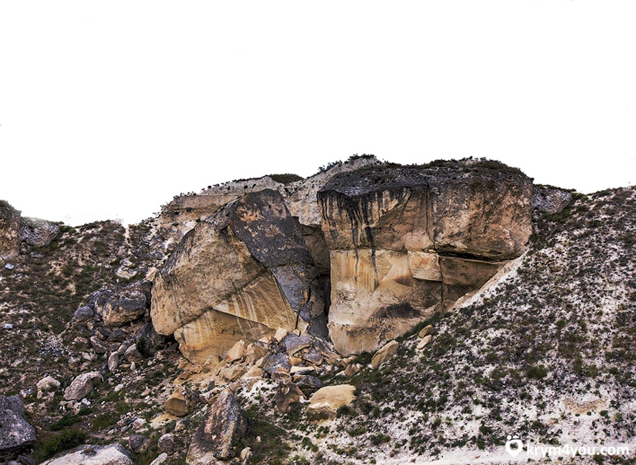 Белогорска расположен каньон Кок-Асан