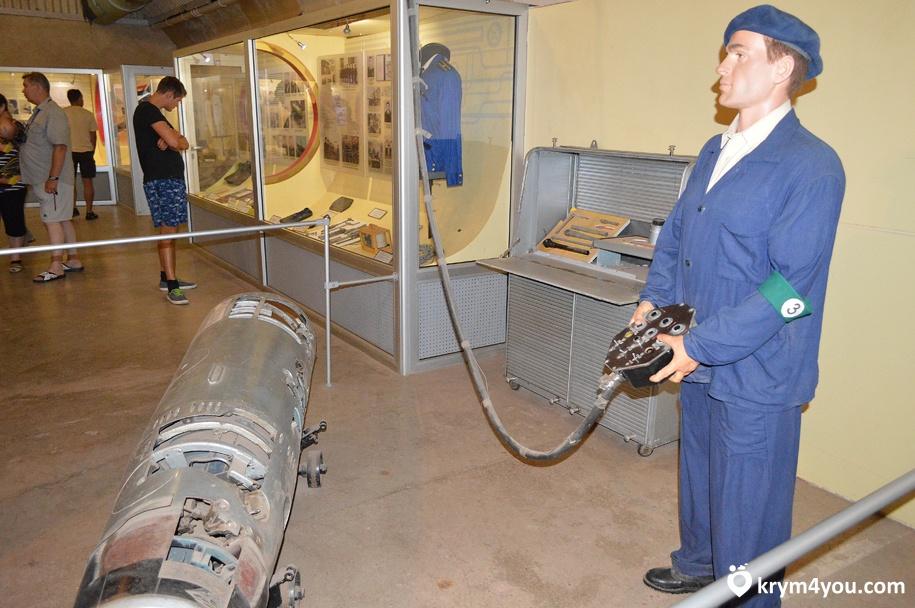 Музей подводных лодок в Балаклаве СССР