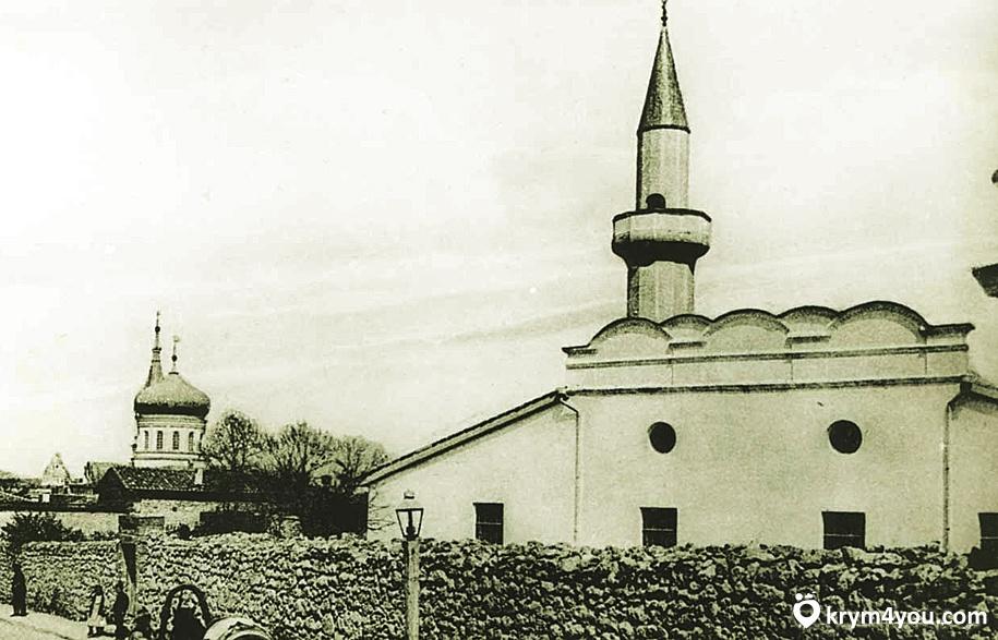 средневековой Ак-Мечети Симферополь