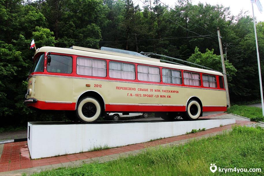 Факты о Крыме самый длинный троллейбусный маршрут