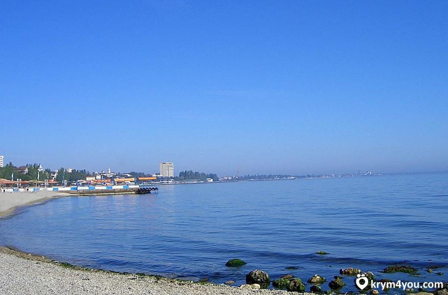 Центральный пляж Феодосии