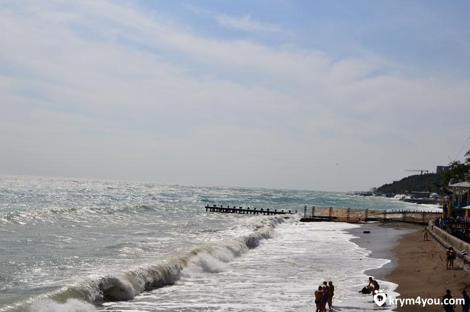 Пляжи Ялты