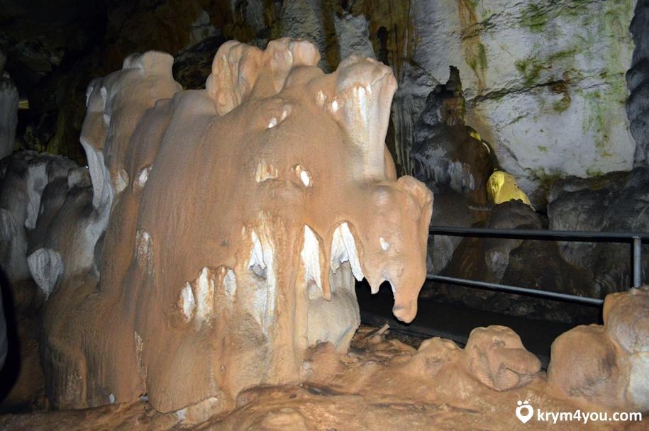 Мраморная пещера Крым фото 4