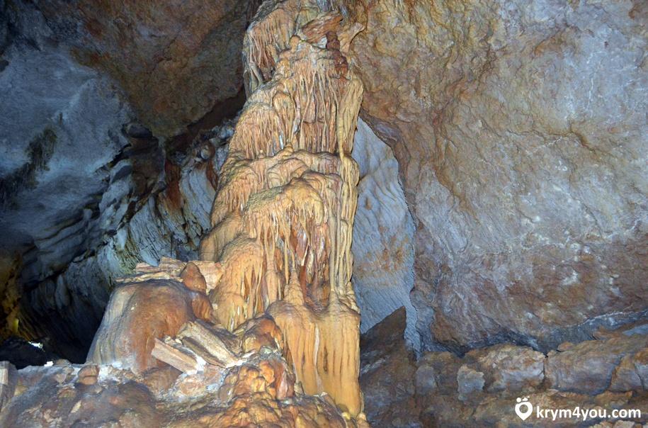 Мраморная пещера Крым фото 1
