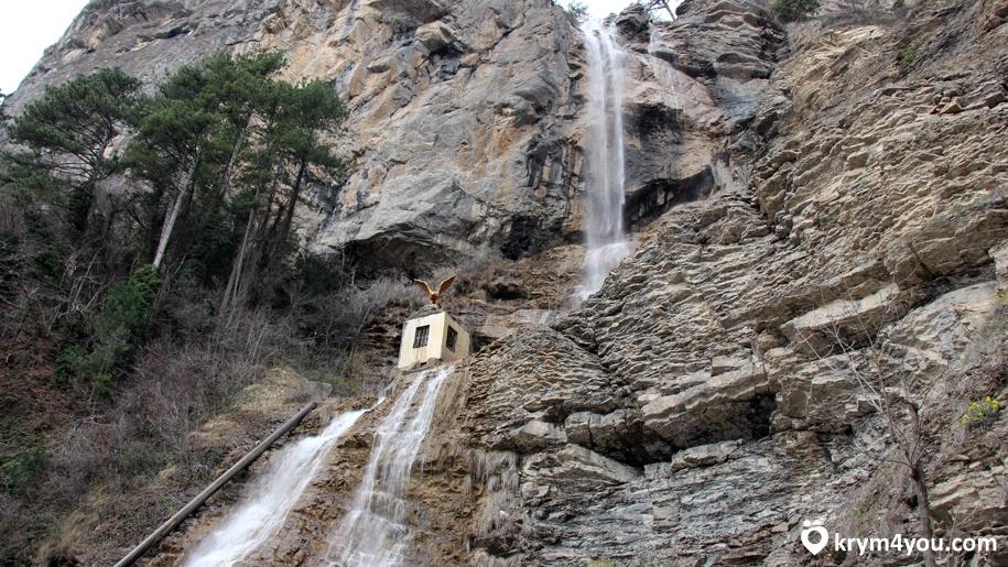 Факты о Крыме  самый высокий водопад Крыма Учан-Су