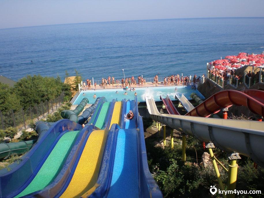 Аквапарки в Крыму фото 1
