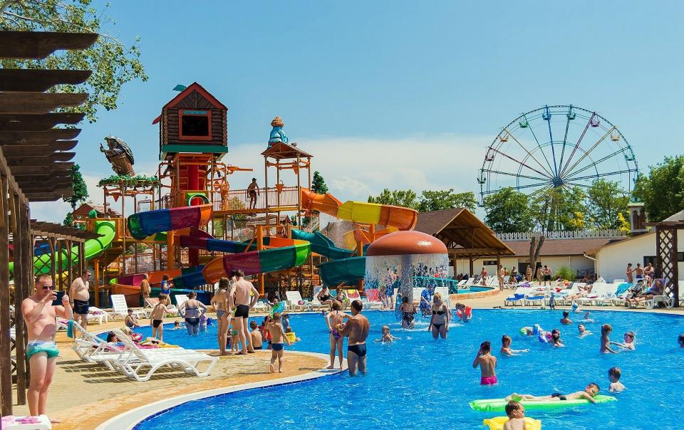 Евпатория, Крым аквапарк Лукоморье фото