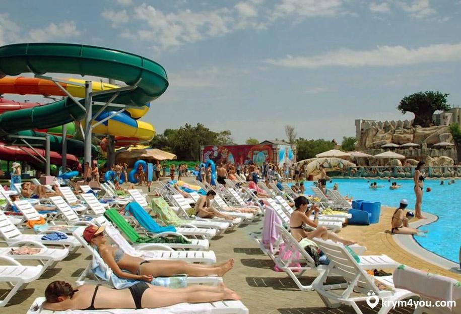 Евпатория аквапарк Лукоморье