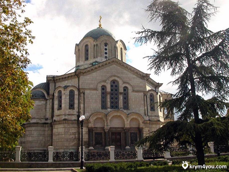 Владимирский собор в Севастополе Крым фото 2