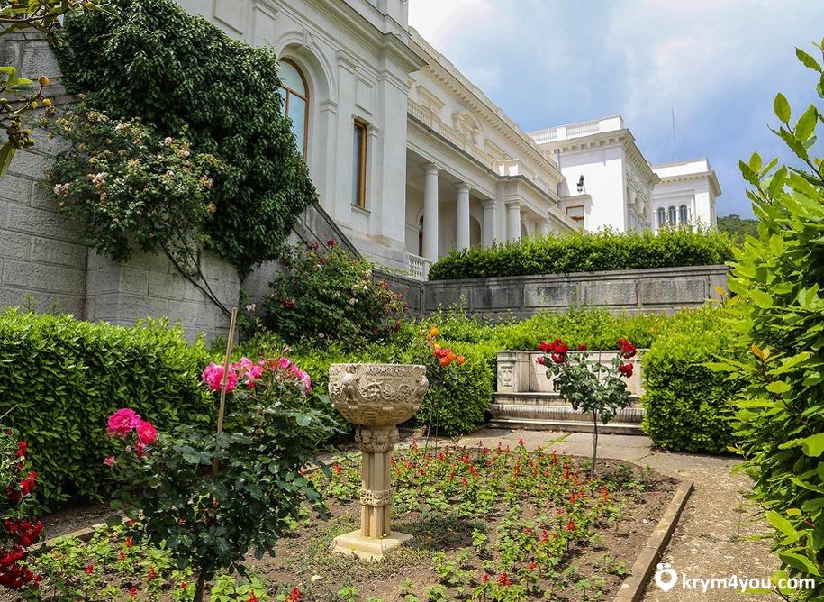 Ливадийский парк Крым фото