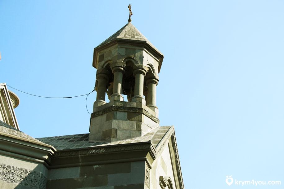 Армянская церковь Святой Рипсиме Крым Ялта