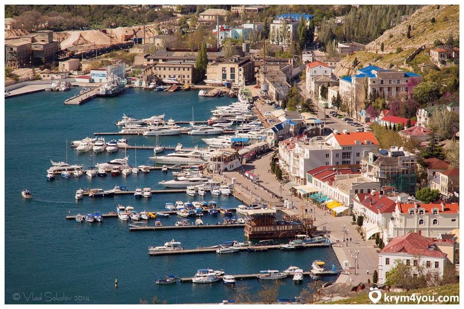 Набережная Назукина в Балаклаве Крым фото 2