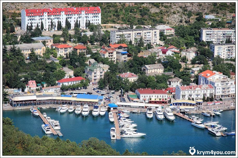 Набережная Назукина в Балаклаве Крым фото