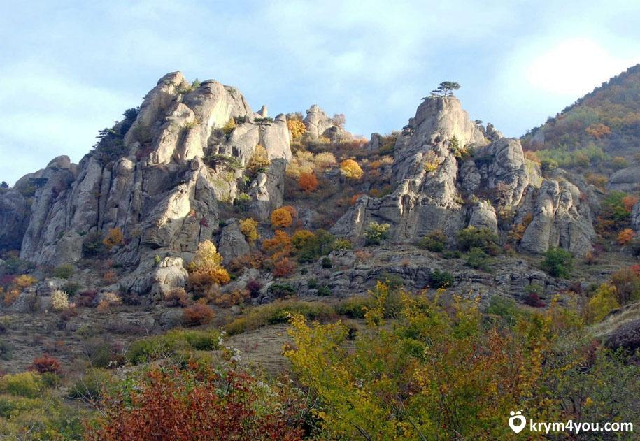 Демерджи Крым. Долина привидений.