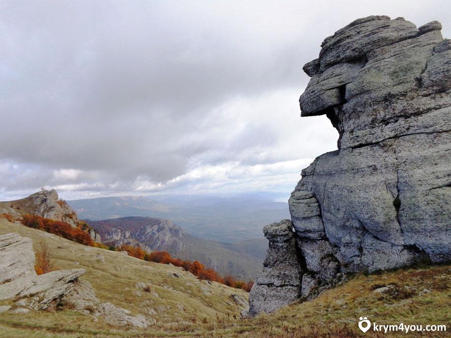 Крым, Долина привидений