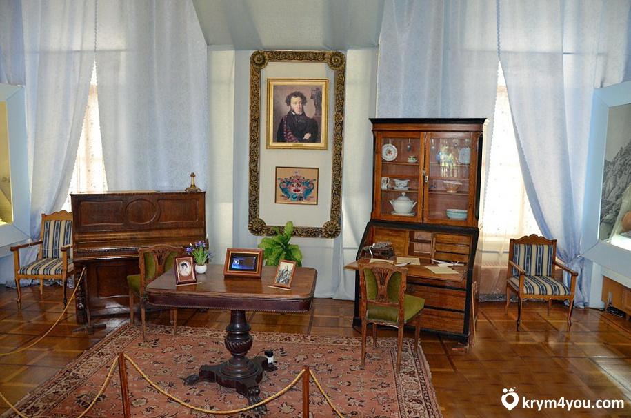 Крым Музей А.С. Пушкина в Гурзуфе