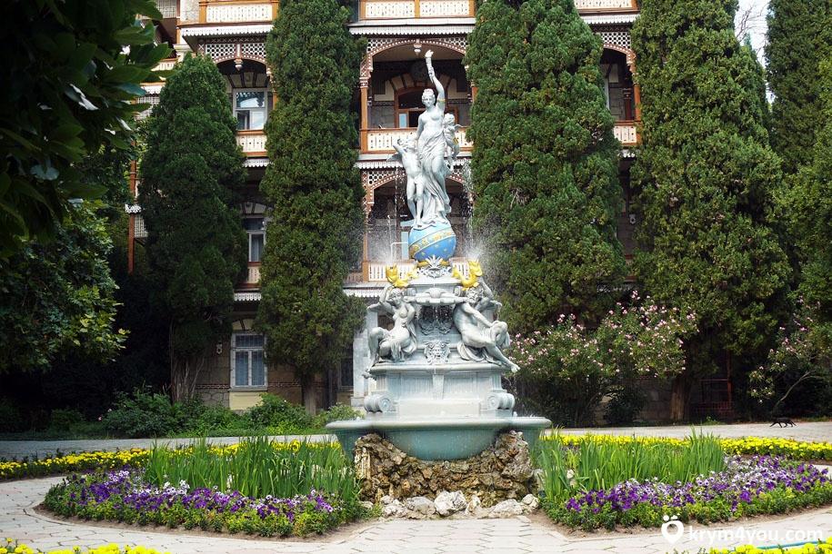 фонтаны в гурзуфском парке итоге получается