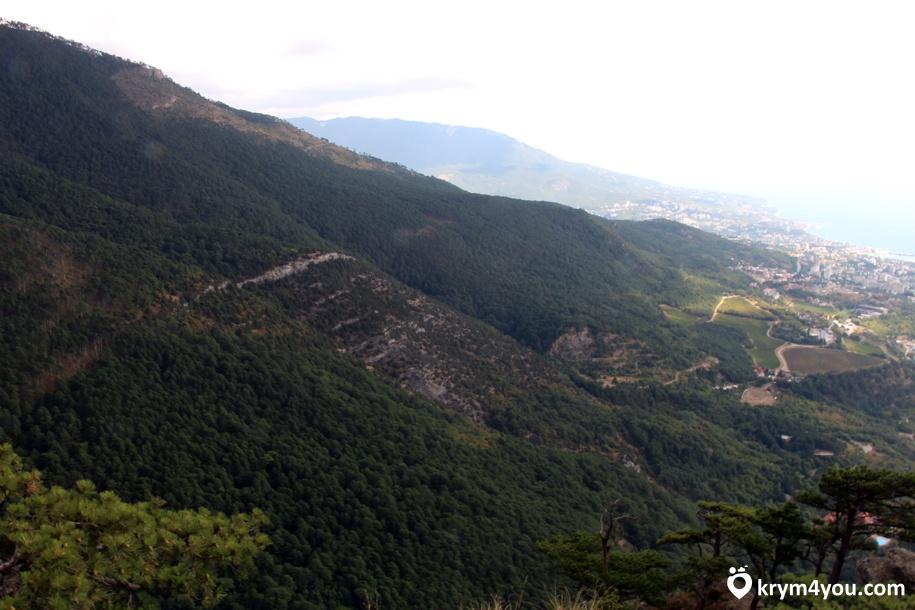 Гурзуфская долина Крым фото 1
