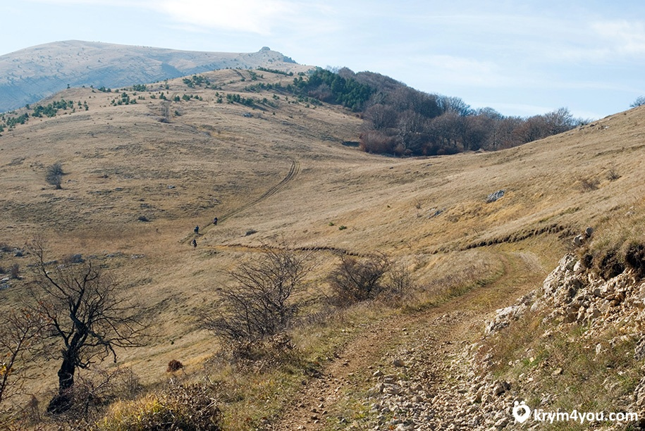 Перевал Гурзуфское седло Крым фото 2