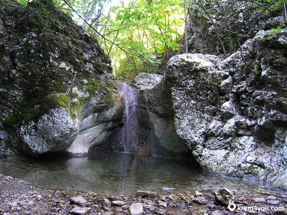 Черемисовские водопады Крым фото 1