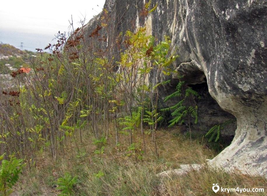 Крым Пещера Шайтан-Коба