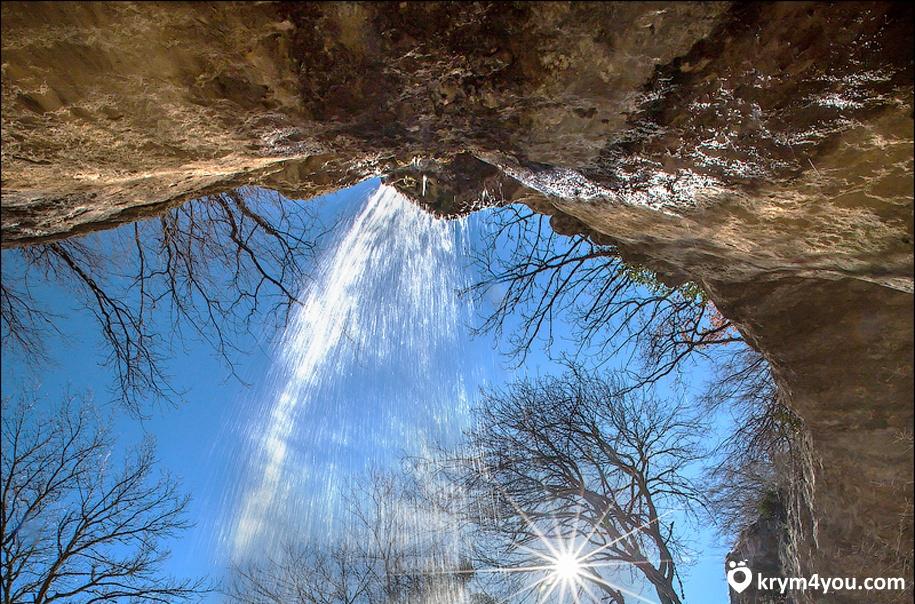 Водопад Козырёк. Крым 2
