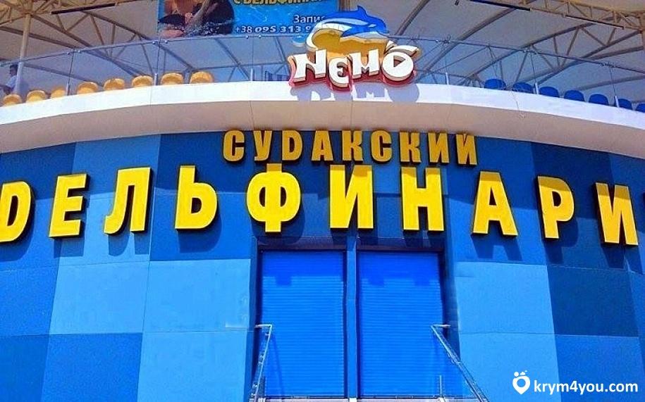 Дельфинарий «Немо» в Судаке. Крым фото