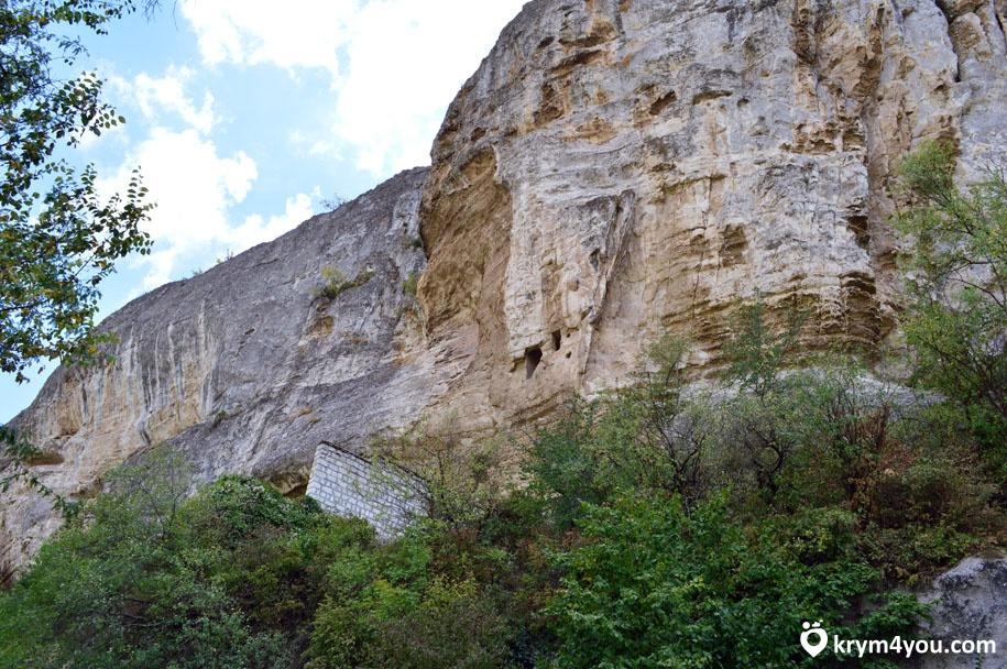 Бельбекский каньон Крым фото1