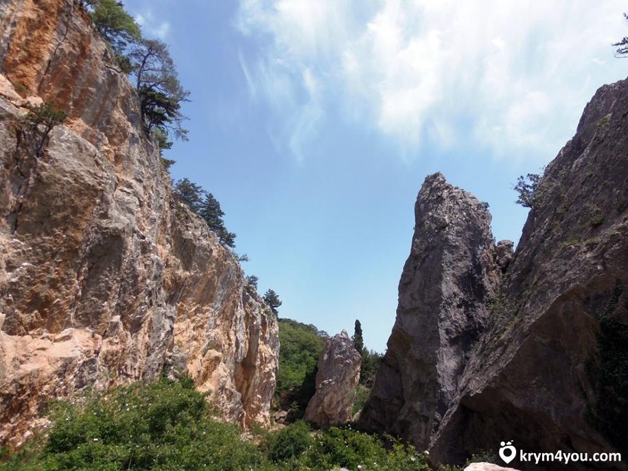 Никитская расщелина Крым фото
