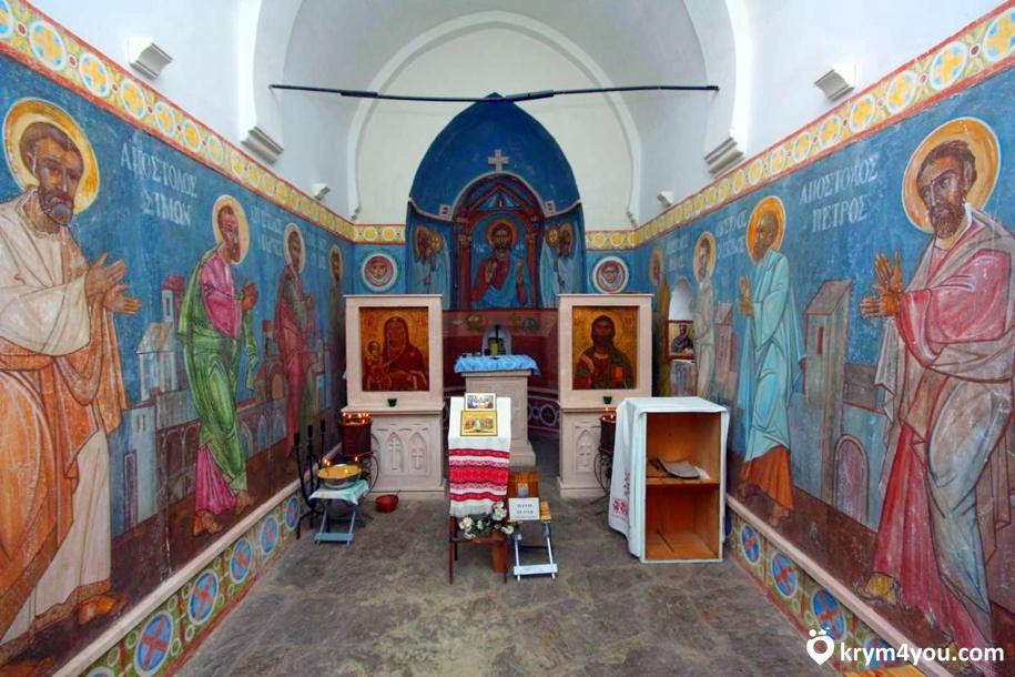 Храм Двенадцати Апостолов Судак