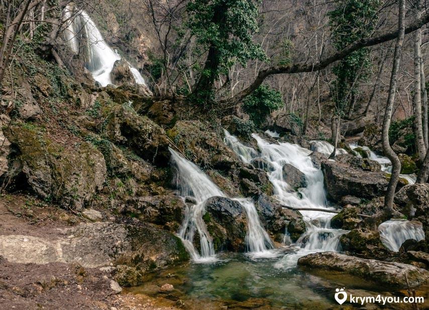 Водопад Су-Учхан поселок Перевальное