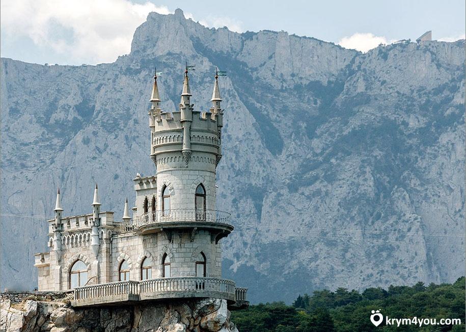Факты о Крыме самый известный дворе ласточкино гнездо